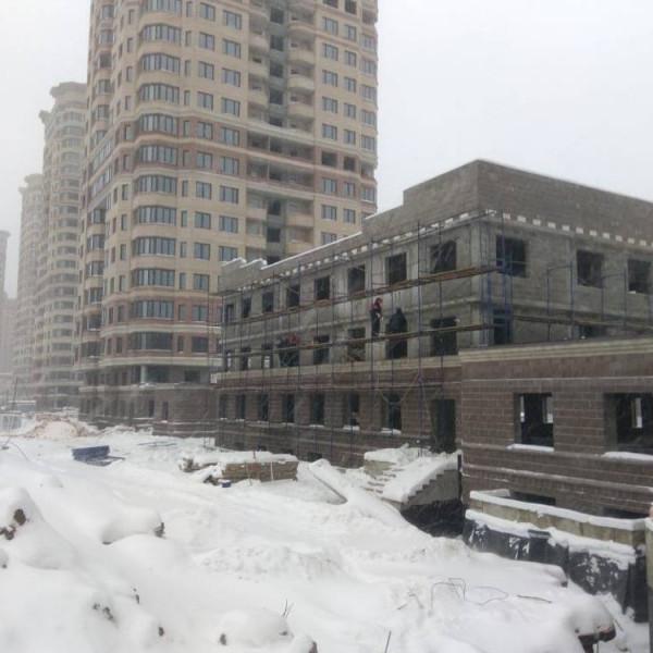 Ход строительства ЖК Новый Раменский к14б